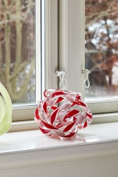 Knot No 2 M Red and white