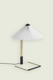 Matin Table Lamp Small White