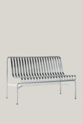 Palissade Dining Bench Without Armrest Hot Galvanised