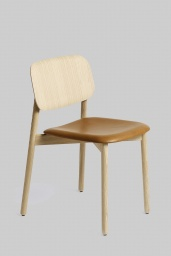 Soft Edge Chair 12 Ek/Läder