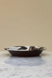 Swirl Bowl Brown Splash