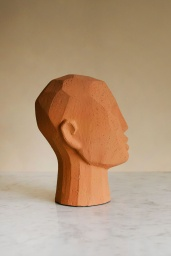 Abstract Head Sculpture