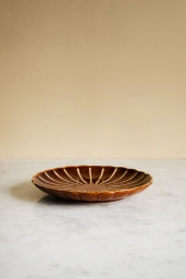 Kyoto Striped Dessert Plate