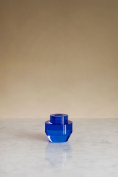Mechanics Cobalt Candle Holder
