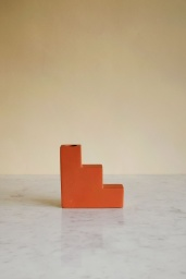 Candle Holder Concrete Stairs