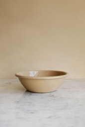 Enamel Bowl Brown