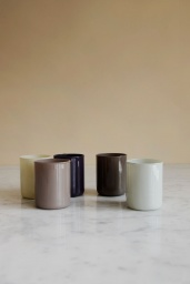 Spot Votive Set om 5 Grey