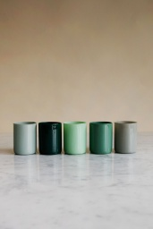 Spot Votive Set om 5 Green