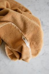 Bath Towel Warm Yellow