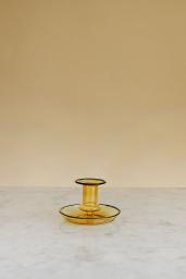 Flare Candleholder Yellow