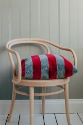 Soft Stripe Cushion 50x50 Fuchsia