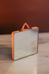 HAY Ruban Mirror Square Orange stripe
