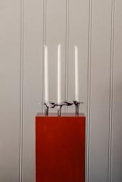 Ostrea Fan Candleholder