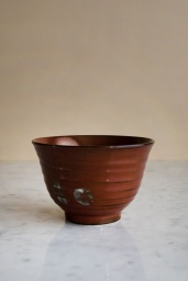 Japanese Matcha Bowl Red