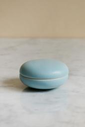 Keramikask Ljusblå