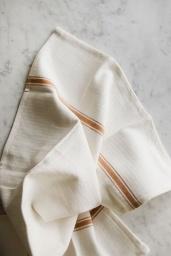 Kitchen Towel Brown Stripe