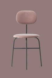 Afteroom Dining Chair Pus Pink Velvet