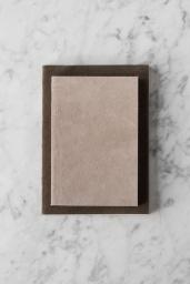 Suede Notebook Medium Grey