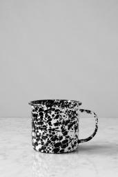Kaffemugg Splatter Black