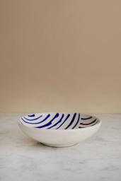 Soppskål Abstract Blue