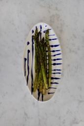 Serveringsfat Piccolo Abstract Blue