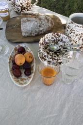 Serveringsfat Piccolo Spruzzi Arancio
