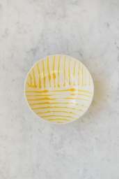 Salladsskål Abstract Giallo