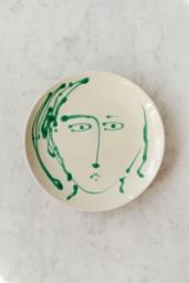 Middagstallrik Face Verde