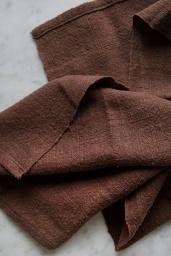 Kitchen Towel Soft Brown