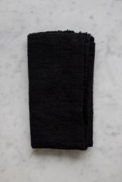 Kitchen Towel Black Indigo