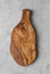 Skärbräda Olivträ Irregular M