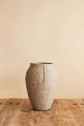 Paperpulp Vas Natur H 23,5 cm
