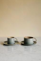 Le Cadere Kaffekopp & Fat Misty Grey