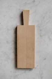 Skärbräda Ek Natur 29x12 cm