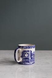 Blue Italian Mug