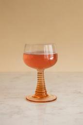 Swirl Wine Glass Nude