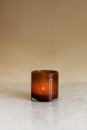 Candle Holder Brown Petit