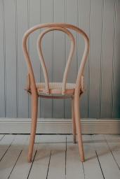 Stol TON No.18 Natur/Flätad Sits