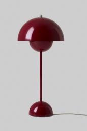Flowerpot Bordslampa VP3 Deep Red