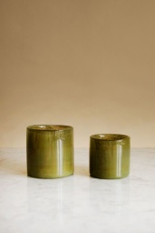 Candle Holder Green Petit
