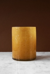 Ljuslykta Frank Lejongul H 19,5 cm