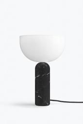 Kizu Table Lamp Black Marble Large