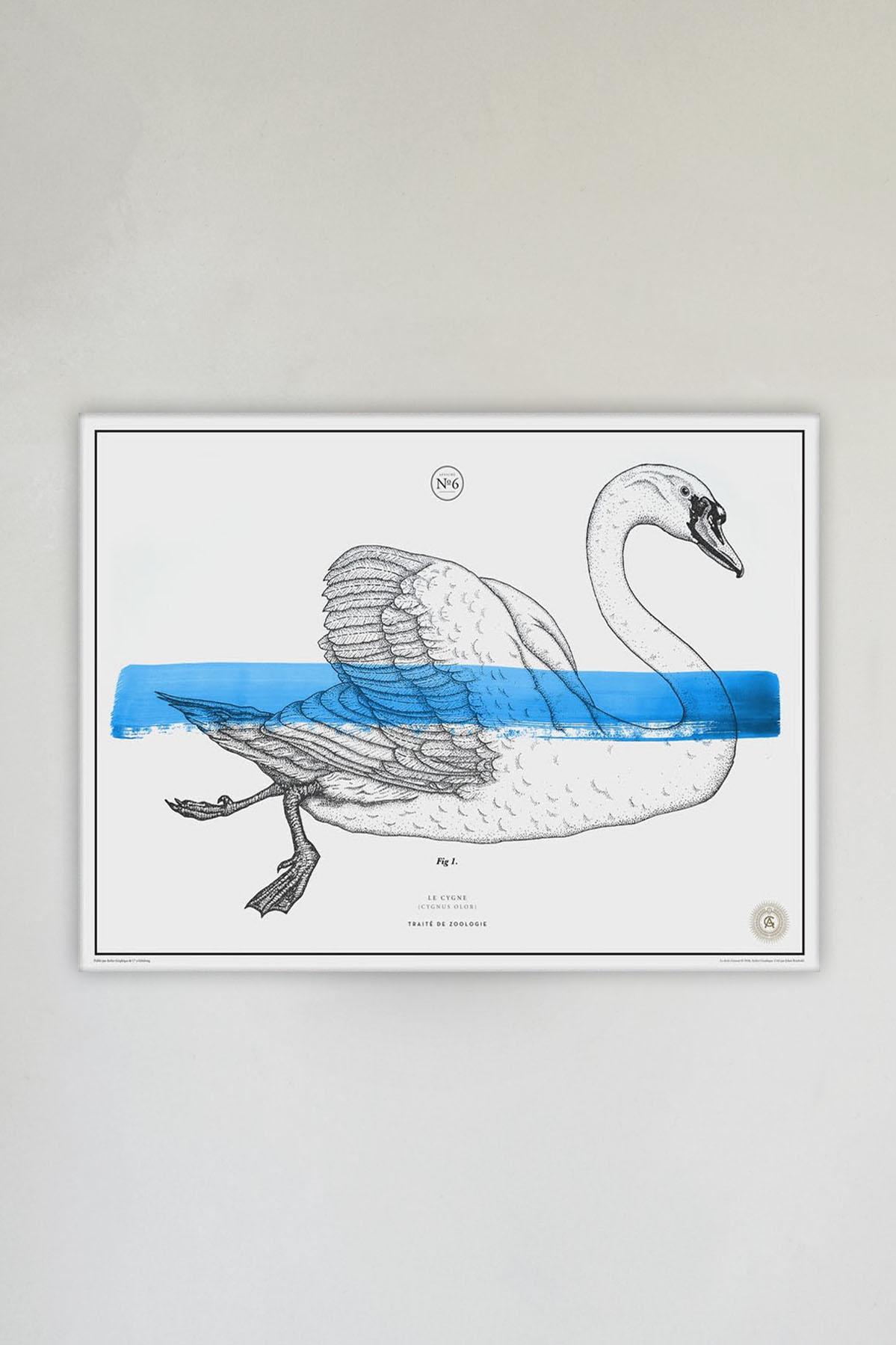 Le Cygne No. 6 Blue