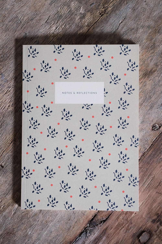 Notebook Floral Sand