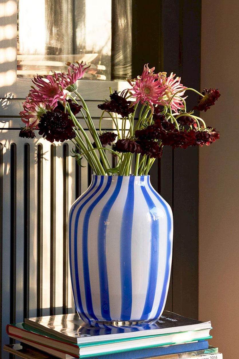 Juice Vase High Blue