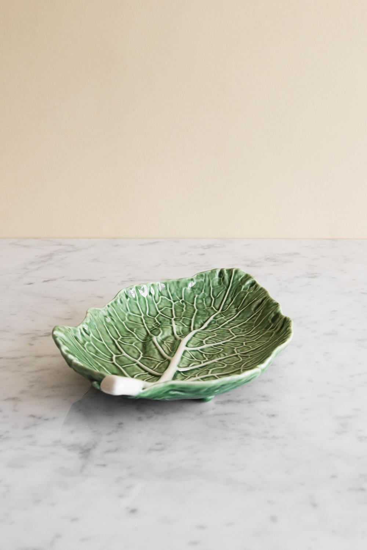Cabbage Platter Leaf