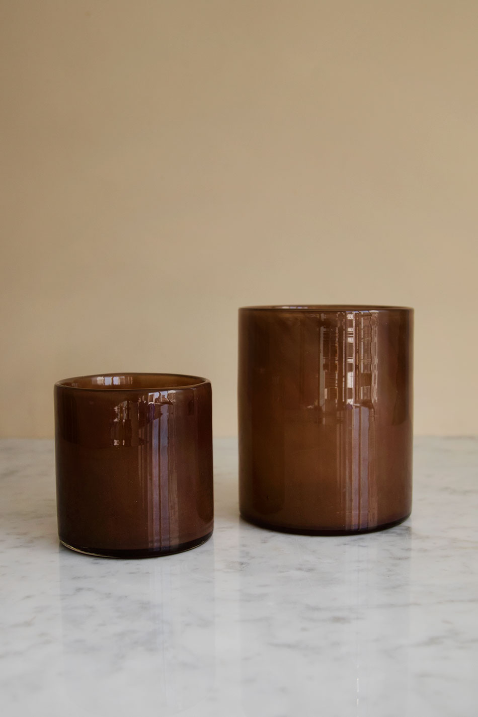 Candle Holder Brown