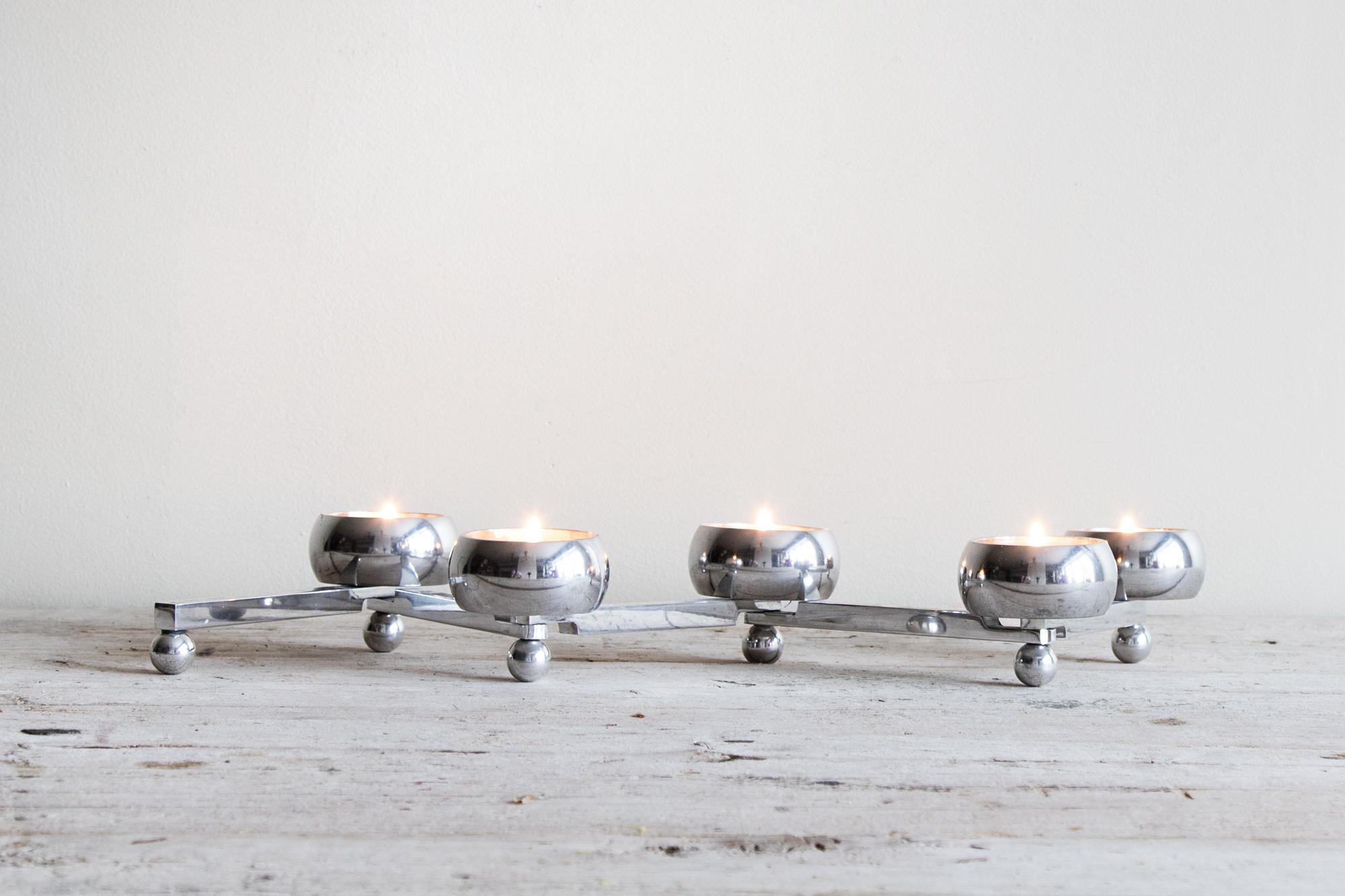 Ljusstake Constella Liten - Aluminium