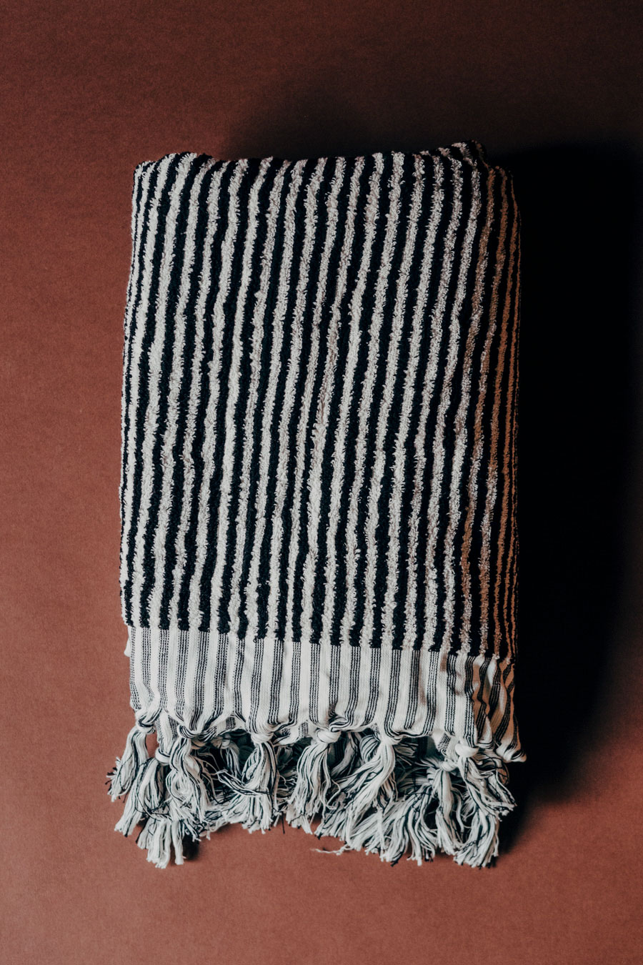 Turkish Cotton Frotté Stripe