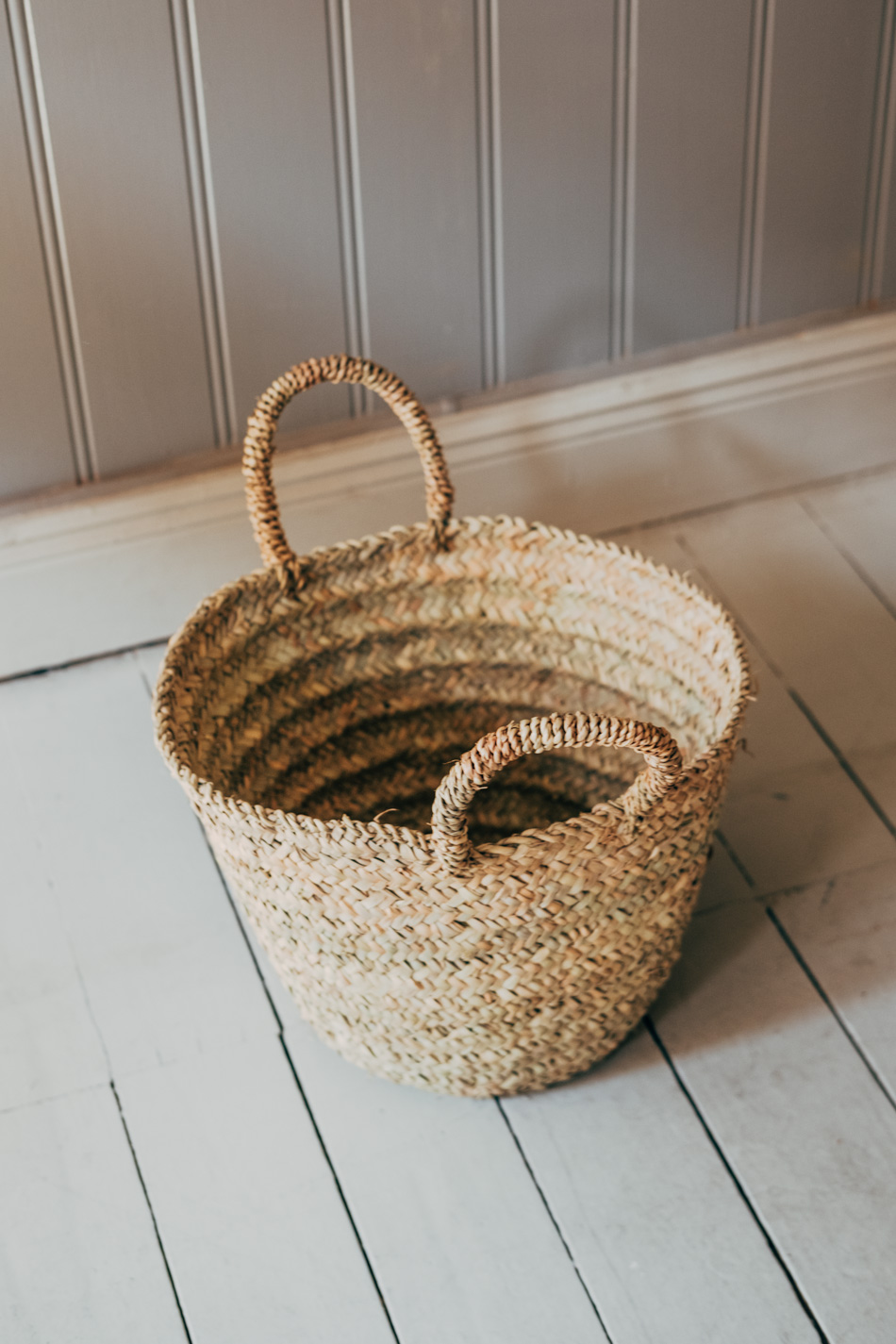 Straw Basket Small